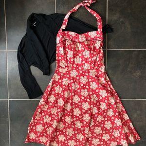 Vintage style halter dress